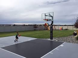 Backyard Basketball Court Cost | Home Outdoor Decoration Outdoor Courts For Sport Backyard Basketball Court Gym Floors 6 Reasons To Install A Synlawn Design Enchanting Flooring Backyards Winsome Surfaces And Paint 50 Quecasita Download Cost Garden Splendid A 123 Installation Large Patio Turned System Photo Album Fascating Paver Yard Decor Ideas Building The At The American Center Youtube With Images On And Commercial Facilities