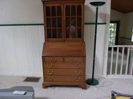 vintage secretary desk with drawers all home ideas and decor