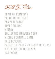 Kc Pumpkin Patch Winery by Fall To Do List Julie Blanner Entertaining U0026 Home Design That