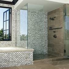 staggering bathroom with mosaic tiles ideas designs unique tile