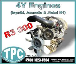 4Y Engine - Inyathi, Amandla & Jinbei H1 - MONTHLY SPECIAL - New And ... Caterpillar C18 Engine Parts For Sale Perth Australia Cat Used C13 Truck Kcb21066 Dd Diesel 3508b React Power Uneedenginescom Daf Engines 1260 Xf8595 Used 2006 Acert Truck Engine For Sale In Fl 1082 10 Best Trucks And Cars Magazine Volvo D7 Brochure Ironman3 Buy 2005 Mack E7427 Assembly 1678