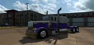 Custom Purple And White Mod For Viper's Peterbilt Mod -Euro Truck ... Best Of Custom Trucks Gp 7th And Pattison 379 Custom For American Truck Simulator Simpleplanes Peterbilt 359 1995 Rig Nexttruck Blog Industry News With Flames Gallery J Brandt Enterprises Canadas Source Quality Used Slammed Pinterest 351 Mod Ats Showrooms Tri Axle Dump 18 Wheels A Dozen Roses Semi Wallpapers Wallpaper Cave Pin By Alena Nkov On Ahae A Kamiony