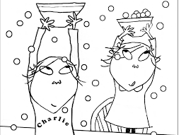 Charlie Lola Coloring Pages Animal
