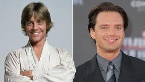 Twitter Is Loving How Much Sebastian Stan Looks Like A Young Luke Skywalker Mark Hamill
