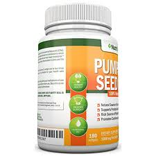 Pumpkin Seeds Prostate Cancer by Buy Pumpkin Seed Oil 1000mg 180 Softgels Cold Pressed