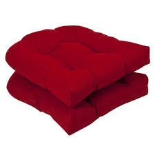 High Back Patio Chair Cushions by Decor Perfect Red Color Of Patio Chair Cushions For Teak Exterior