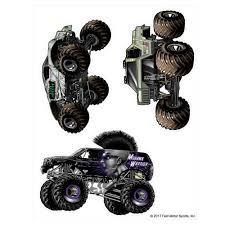 100 Mohawk Warrior Monster Truck Jam S Decal Sticker Pack Decalcomania