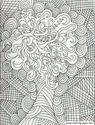 Zen Anti Stress Christmas Adults Coloring Pages
