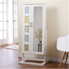 Furniture: Jewelry Box With Mirror | Free Standing Jewelry Armoire ... Mirrored Armoire For Jewelry Abolishrmcom Fniture Organize Every Piece Of Jewelry In Cool Target White Armoire Chest Clearance Faedaworkscom Ideas Inspiring Stylish Storage Design With Big Lots Mirrored Standing Target Box Mirror Free Canada Ed Leather All Home And Black Friday Kohls Sears