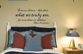 Harry Potter Quote By Dumbledore Vinyl Wall Decal Bushcreative Needs To Go In My Classroom