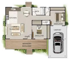 100 One Bedroom Granny Flats 102 M2 2 Carport 2 Bed Granny Flat Granny Dream