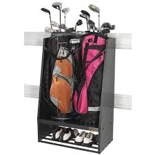 Gladiator 30 Wall Cabinet by Gladiator Premier Series Weleded Steel 2 Bag Golf Caddy Garage