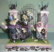 Jim Shore Halloween Disney by Dizdude Com Disney Traditions The Hitchhiking Ghosts Figurine
