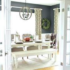 Fantastic Modern Farmhouse Dining Room Curtains Tables Home Pictures