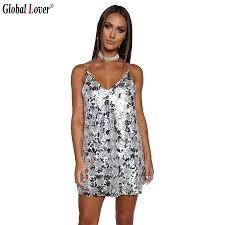 popular gold sequin short dress buy cheap gold sequin short dress