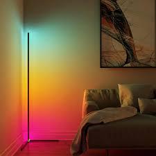 minimalismus led ecke boden le bunte wohnzimmer dekoration boden licht schlafzimmer nacht stehend le innen beleuchtung
