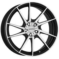 100 16 Inch Truck Wheels Inch Dotz Kendo 4x100 BLACK 4 Stud Vauxhall VW Alloy Wheels