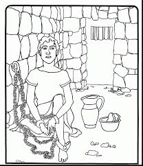 Brilliant Joseph Egypt Coloring Pages With And Coat Of Many