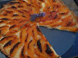aprikosen lavendel tarte alles aus dem garten