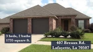 homes for sale 407 breaux rd lafayette la 70507 youtube