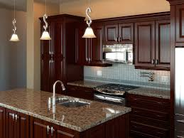 Classic Kitchen Interior Design Beautiful Hanging Light Lovely Wash Basin Wooden Wardrobe And