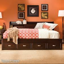 raymour and flanigan beds bedroom with