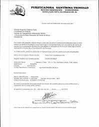 Carta Notificacion Bancaria
