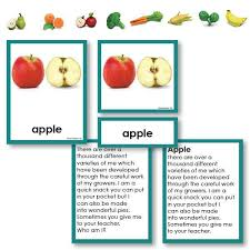 Fruits And Vegetables Three Part Card Riddle Stories With Objects