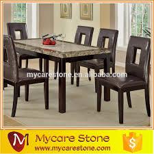 Customized Top Quality Popular Quartz Dining Table