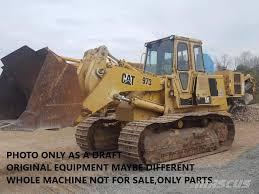 100 Truck Loader Caterpillar TRUCK LOADER 973 ONLY FOR PARTS Crawler Loaders