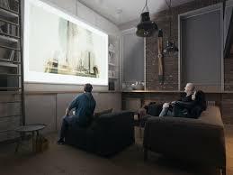 beamer im wohnzimmer integrieren ideen für einzigartiges