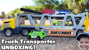 TOY TRUCK Videos For Children L Matchbox Construction Transporter ... Toy Trash Truck World Of Garbage Trucks Videos For Children L Unboxing Bruder Rear Loader First Gear Sale Best Resource Pictures Ceramic Tile Amazoncom Bruder Toys Man Side Loading Orange The Top 15 Coolest In 2017 And Which Is For Kids Lovetoknow Matchbox Large Walmartcom Factory Learning Toddlers By Stock Illustrations 2608