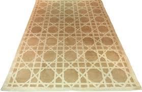 casa padrino luxus teppich beige cremefarben alle größen handgetufteter wohnzimmerteppich aus neuseeland wolle wohnzimmer deko