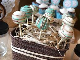 Beautiful Cake Pop Wedding Display 22