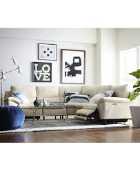 Power Reclining Sofa Problems by Stefana Leather Power Reclining Sectional Sofa Created For Macy U0027s