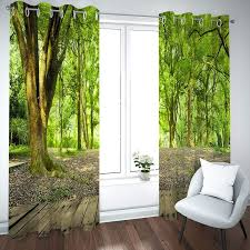daesar verdunklungs vorhang polyester 2er set 214x115cm