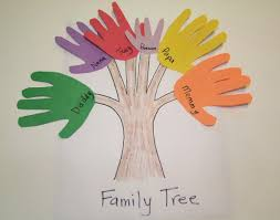 Construction Family Paper Craft Tree Design