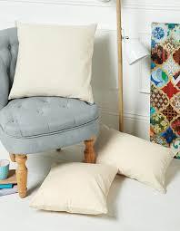 westford mill fairtrade cotton canvas cushion cover wm350 w350