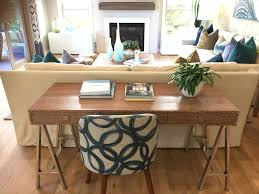 Narrow Sofa Table Behind Couch by Best 25 Behind Couch Ideas Only On Pinterest Small Apartment