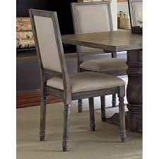 Clearance Dove Gray Wood Frame Dining Chair