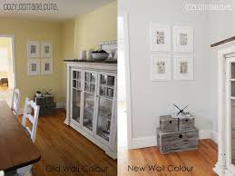 Paint Color In The Right Hand Picture Is Gray Owl By Benjamin Moore But At A Half Tint To Make It Lighter