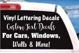 Decal Junky Custom Vinyl Lettering Decals & Stickers for Cars