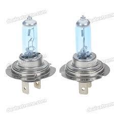 h7 55w 6500k car white light bulbs pair dc 12v free shipping