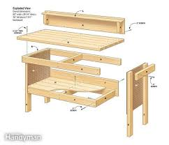 Easy Wood Workbench Plans Discover Woodworking Projects