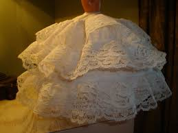 hoop with triple ruffle petticoat i designed this for a barbie