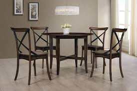 Amazon.com - Best Master Furniture Hillary Round 5 Piece ... Awesome Large Ding Table The Best Of Room On Set Walden Extension Solid Wood Chairs Home Fniture Design Perfect Exquisite Bali Hand Carved 8 9 Pc Oval Dinette Ding Room Set Table Upholstered Modern Kincaid Artisans Shoppe Traditional Bamboo 5 Pcs Caramelized Linden Sets Nebraska Mart Legacy Classic Symphony 7piece Rectangular A Roundup Of 126 Tables For Every Style And Space Mhattan Comfort Stiwell 4725 In Red
