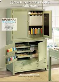 The Most Recent Cover Of Home Decorator Collection Catalog Features This Completely Awesome Craft Cupboard Look Even A Spot For Sewing Machine
