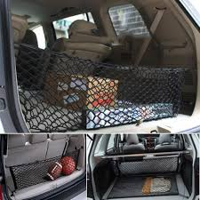 Universal Car Truck SUV Rear Cargo Net Storage Bag Luggage Organizer ... New Heavy Duty Trailer Net Truck Cargo W Bungee Marksign 100 Waterproof Truck Cargo Bag With Net Fits Any Gladiator Heavy Duty Medium Mgn100 Auto Accsories Headlight Bulbs Car Gifts Trunk Mesh Smartstraps Bungee Plastic Hooks At Lowescom Heavyduty Pickup Securing Gear Tailgate Down 20301 6x8 Ft Long Bed Restraint System Bulldog Winch Upgrade Cord 47 X 36 Elasticated Wwwtopsimagescom Gorilla Boulder Distributors Inc