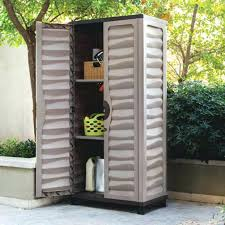 Outdoor Patio Cabinet Cabinets Storage Quality Plastic Sheds 1 3