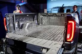 GMC Reveals 2019 Sierra With World's First Carbon Fibre Bed – WHEELS.ca 6066 C10 Carbon Fiber Tail Light Bezels Munssey Speed 2019 Gmc Sierra Apeshifting Tailgate Offroad Luxe Lite 180mm Longboard Truck Motion Boardshop Version 2 Seats Car Heated Seat Heater Pads 5 Silverado Z71 Chevy Will It Alinum Lower Body Panel Rock Chip Protection Options Tacoma World Is The First To Offer A Pickup Bed Youtube Ford Trucks Look Uv Graphic Metal Plate On Abs Plastic Gm Carbon Fiber Pickup Beds Reportedly Coming In The Next Two Years Plastics News Bigger Style Rear E90 Spoiler For Bmw Csl 3 Fiberloaded Denali Oneups Fords F150 Wired